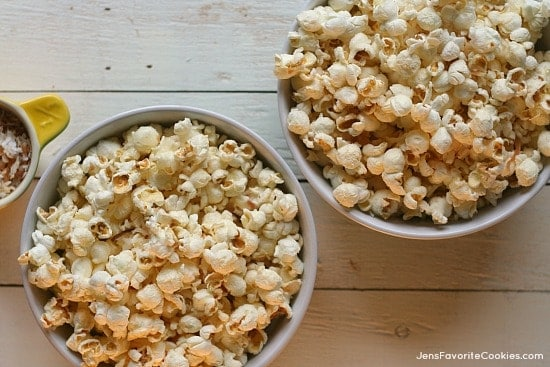 toasted coconut popcorn jens favorite cookies - 8 Healthy Snacks Your Kids Will Love