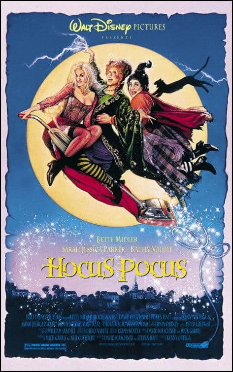 hocus pocus - Don't Get Spooked: 8 Family-Friendly Halloween Movies