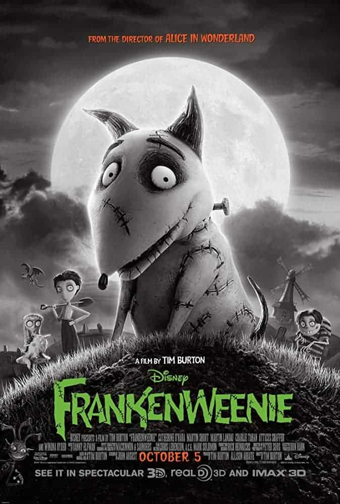 frankenweenie - Don't Get Spooked: 8 Family-Friendly Halloween Movies