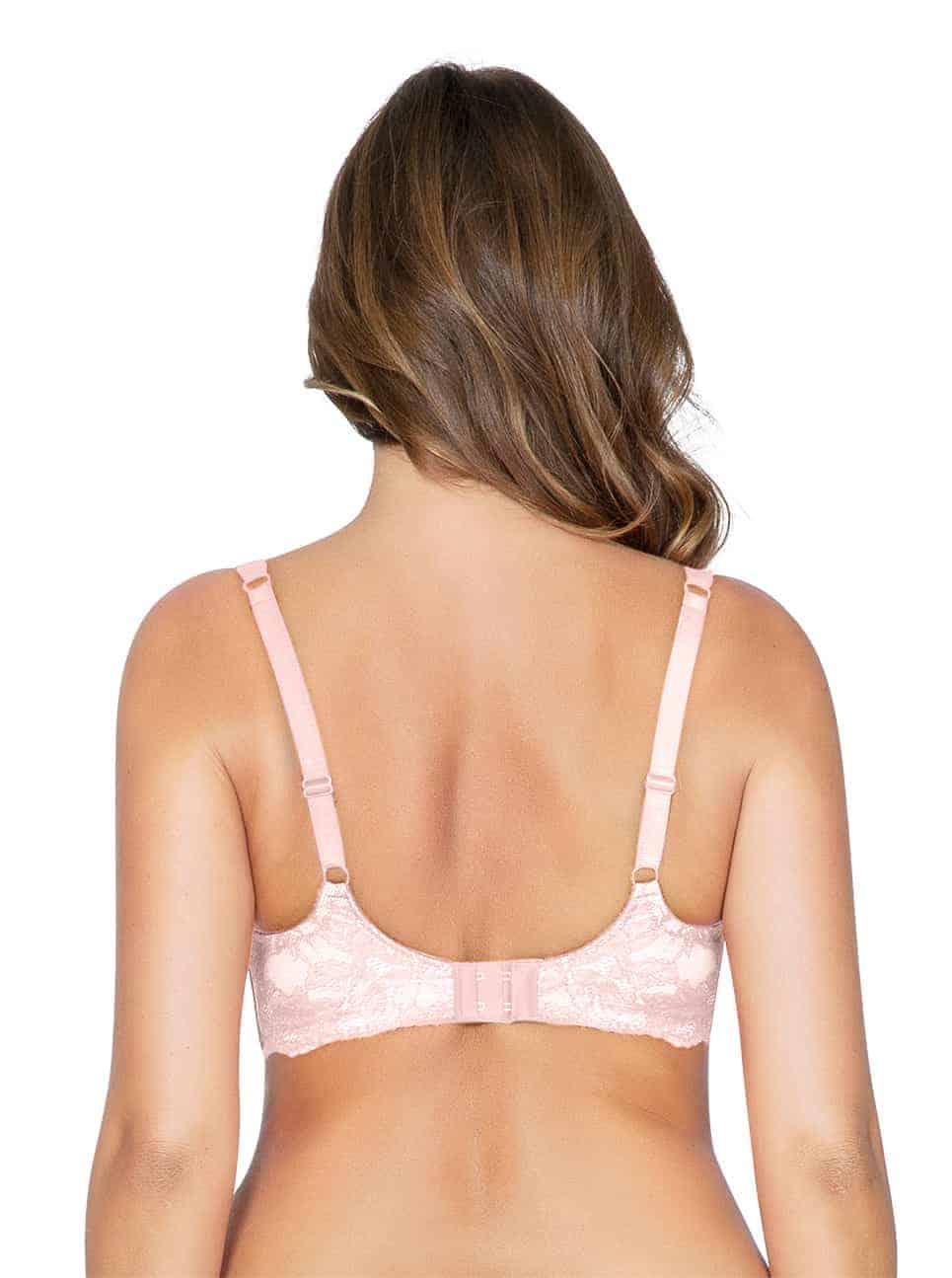 Marion ContourPaddedBraP5391 PinkParfait Back - Marion Contour Padded Bra - Pink Parfait – P5391