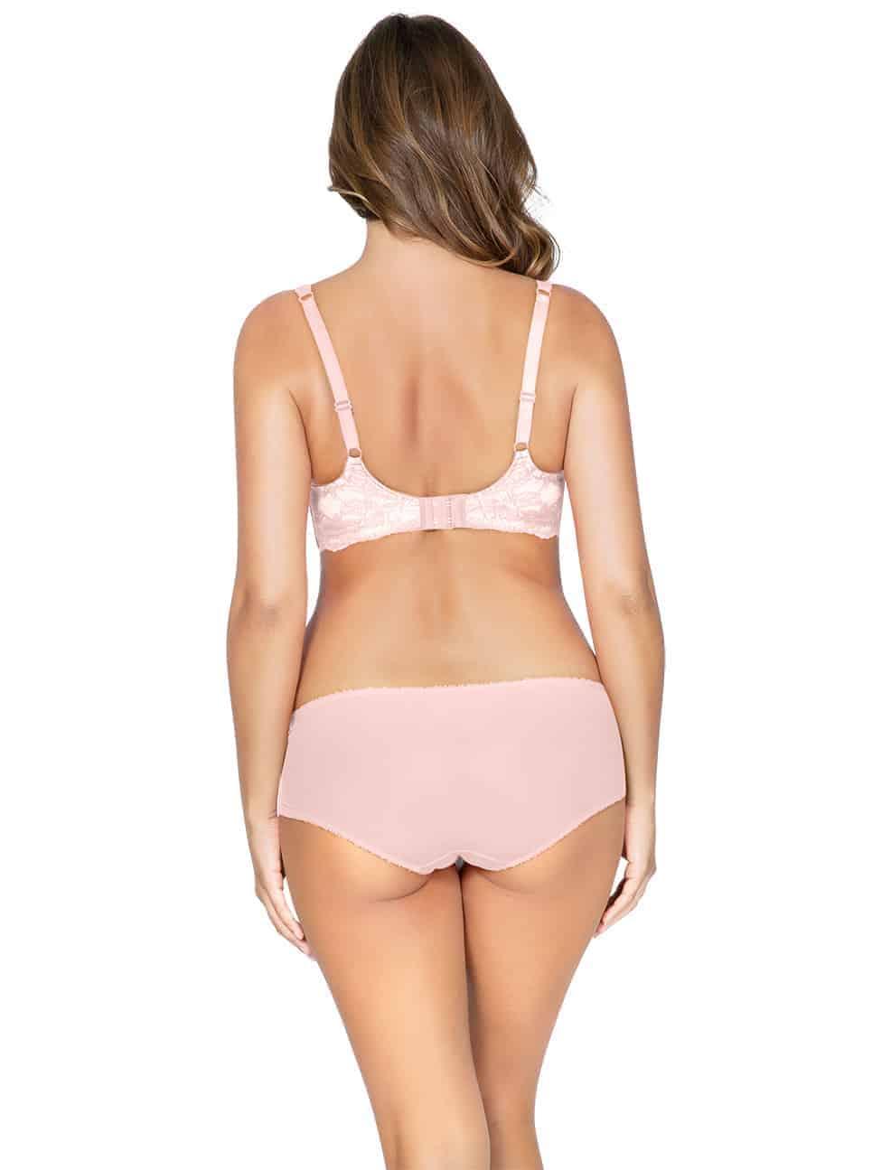 Marion ContourPaddedBraP5391 HipsterP5395 PinkParfait Back - Marion Contour Padded Bra - Pink Parfait – P5391