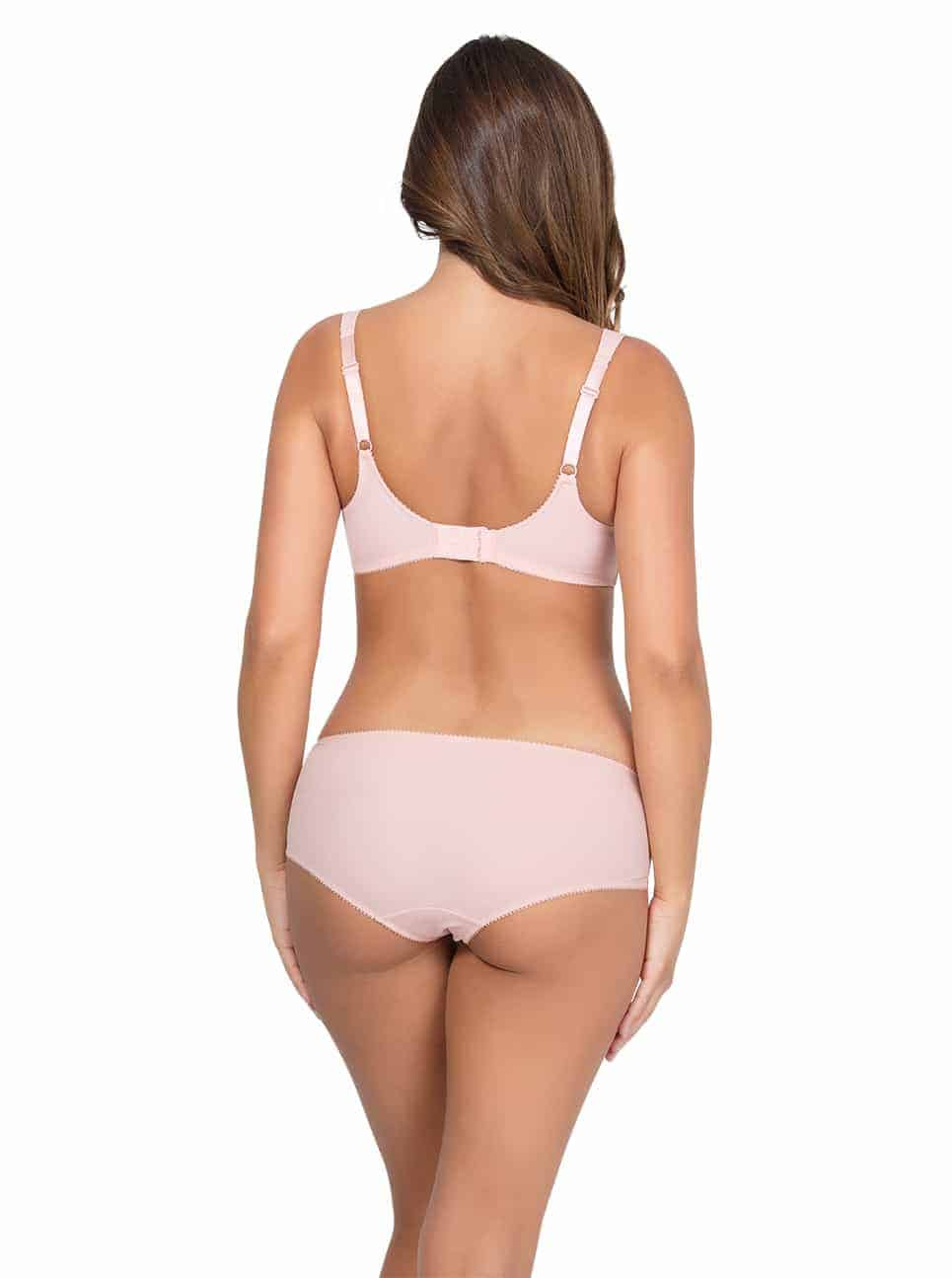 Marion UnlinedWireBraP5392 HipsterP5395 PinkParfait Back copy - Marion Hipster – Pink Parfait – P5395