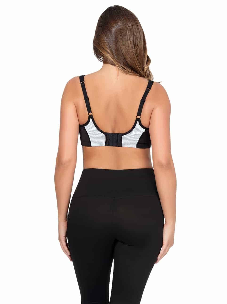 ParfaitActive SportsBraP5541 Black Back - Dynamic Sports Bra - Black - P5541