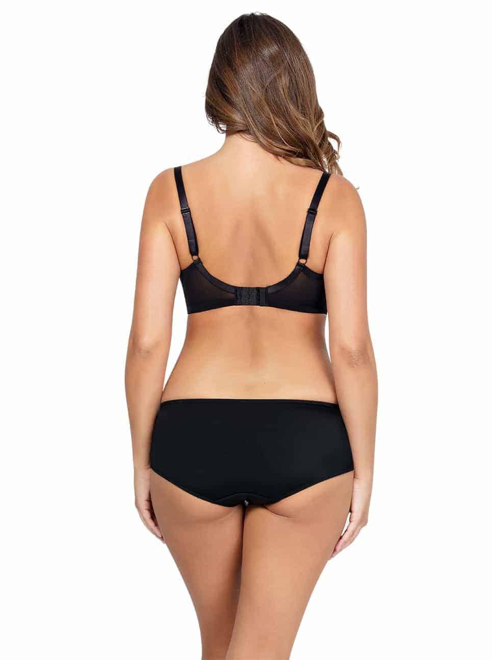 Emma PlungeMoldedBraP5490 HipsterP5495 Black Back - Emma Hipster - Black - P5495