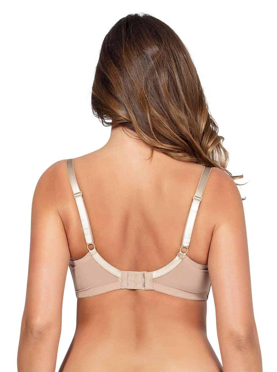 Emma PlungeMoldedBraP5490 Bare back - Emma Plunge Molded Bra - Bare - P5490