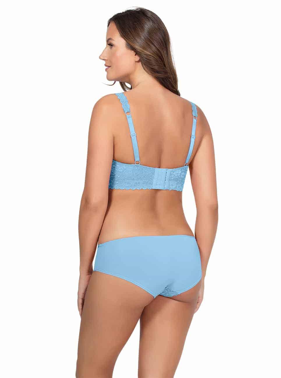 PARFAIT Adriana LaceBraletteP5482 BikiniP5483 SkyBlue Back - Adriana Bikini - Sky Blue - P5483
