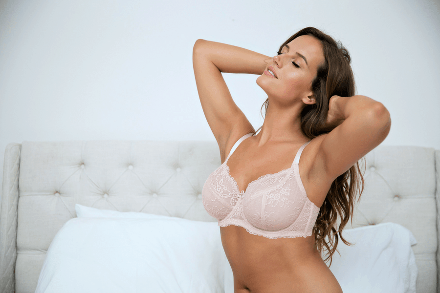 comfortable pretty bras
