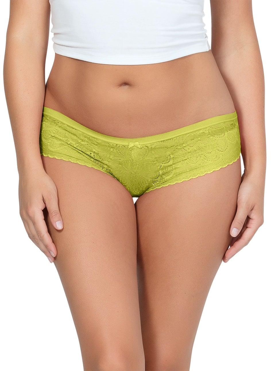 PARFAIT ParfaitPanty SoGlam HipsterPP502 Lemonade Front - Panty So Glam Hipster - Lemonade - PP502