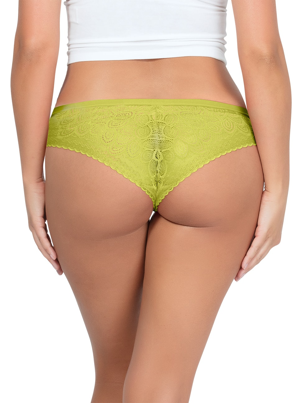 PARFAIT ParfaitPanty SoGlam BikiniPP302 Lemonade Back2 copy - Panty So Glam Bikini - Lemonade - PP302