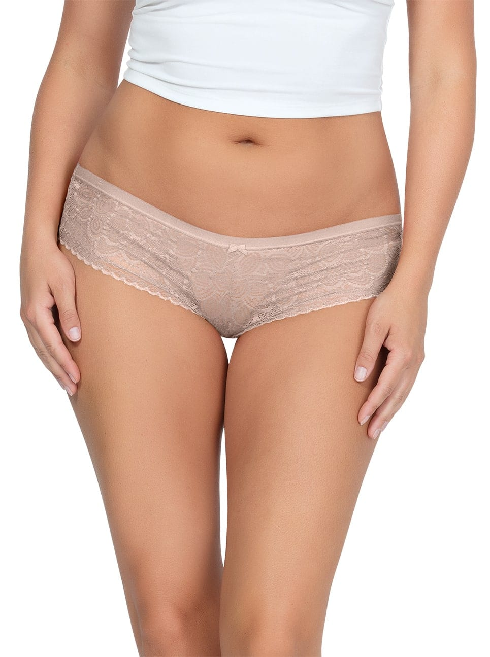 PARFAIT ParfaitPanty SoGlam HipsterPP502 Bare Front 1 - Panty So Glam Hipster - Bare - PP502