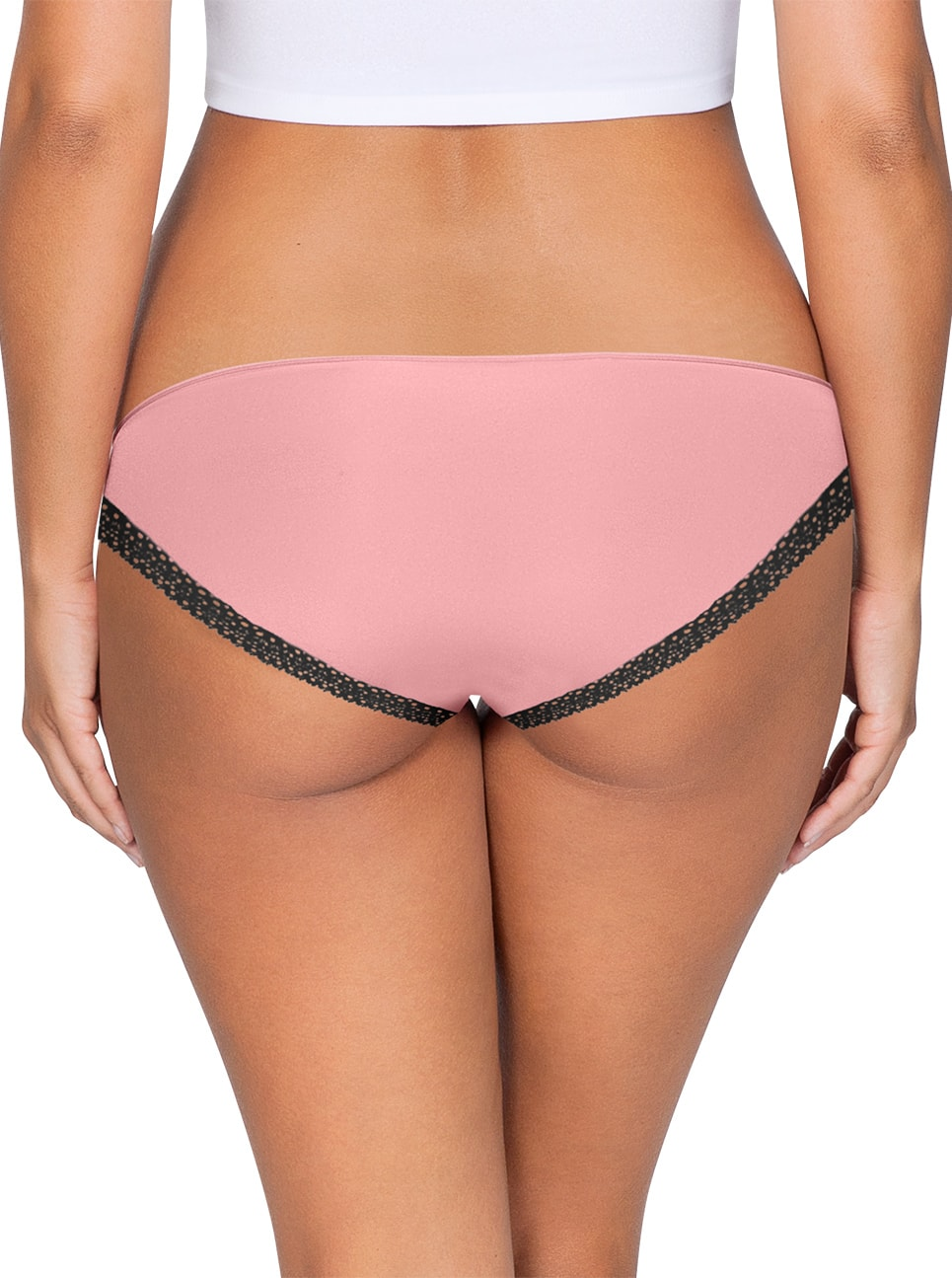 ParfaitPanty Solovely Bikini PP301 D PinkBack close - Panty So Lovely Bikini Quartz Pink PP301