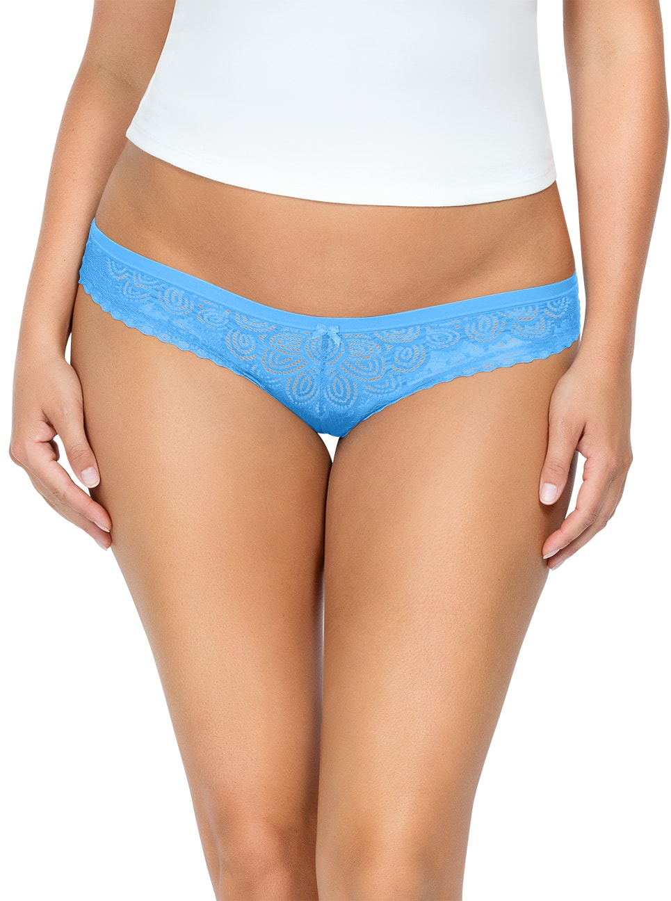 ParfaitPanty SoGlam BIKINIPP302 MediterraneanBlue FRONT - Panty So Glam Bikini - Mediterranean Blue - PP302