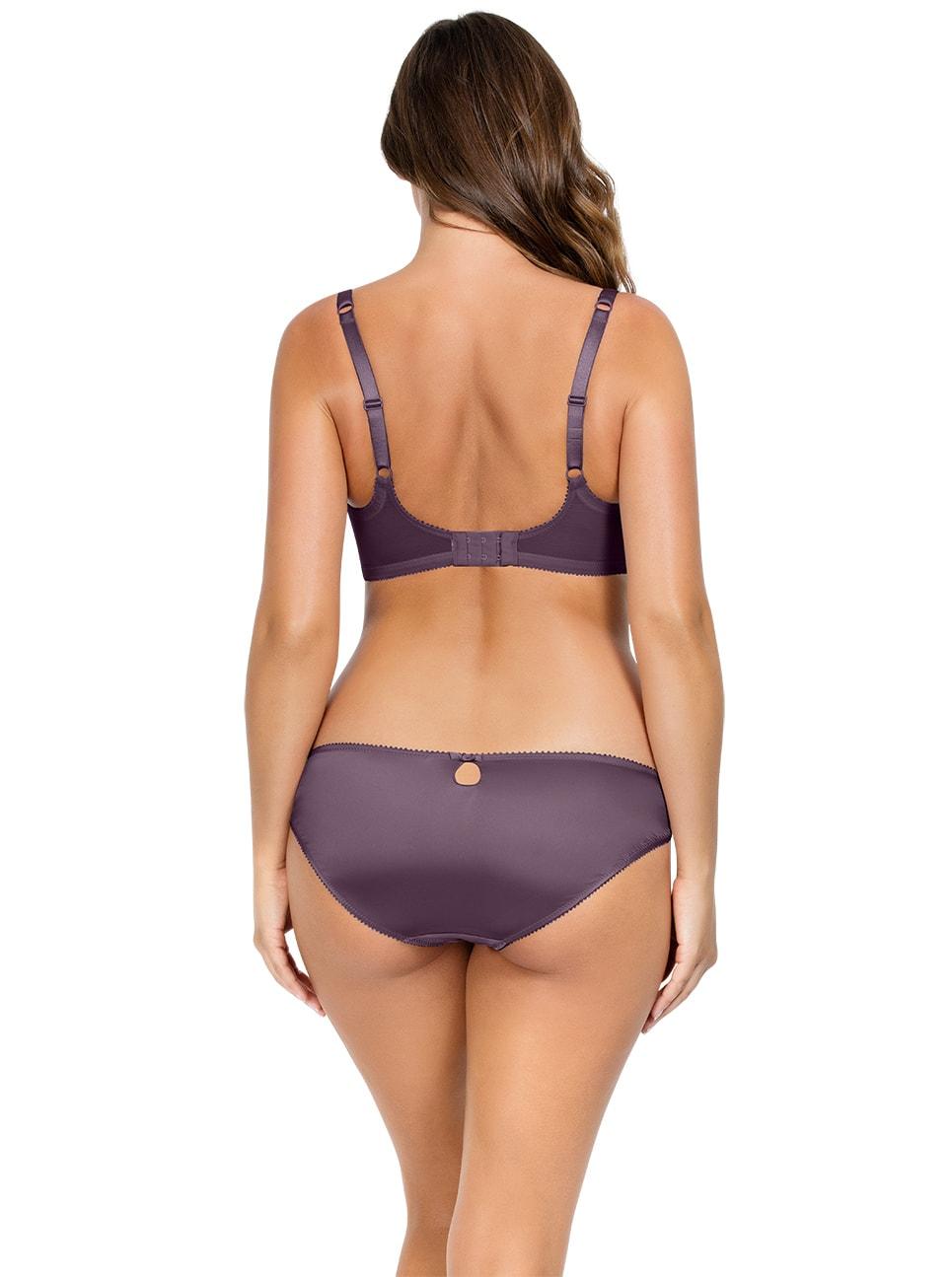 PARFAIT Mariela ContourPaddedBraP5581 BikiniP5583 PlumNostalgiaRose Back copy 2 - Mariela Bikini - Plum/Nostalgia Rose - P5583