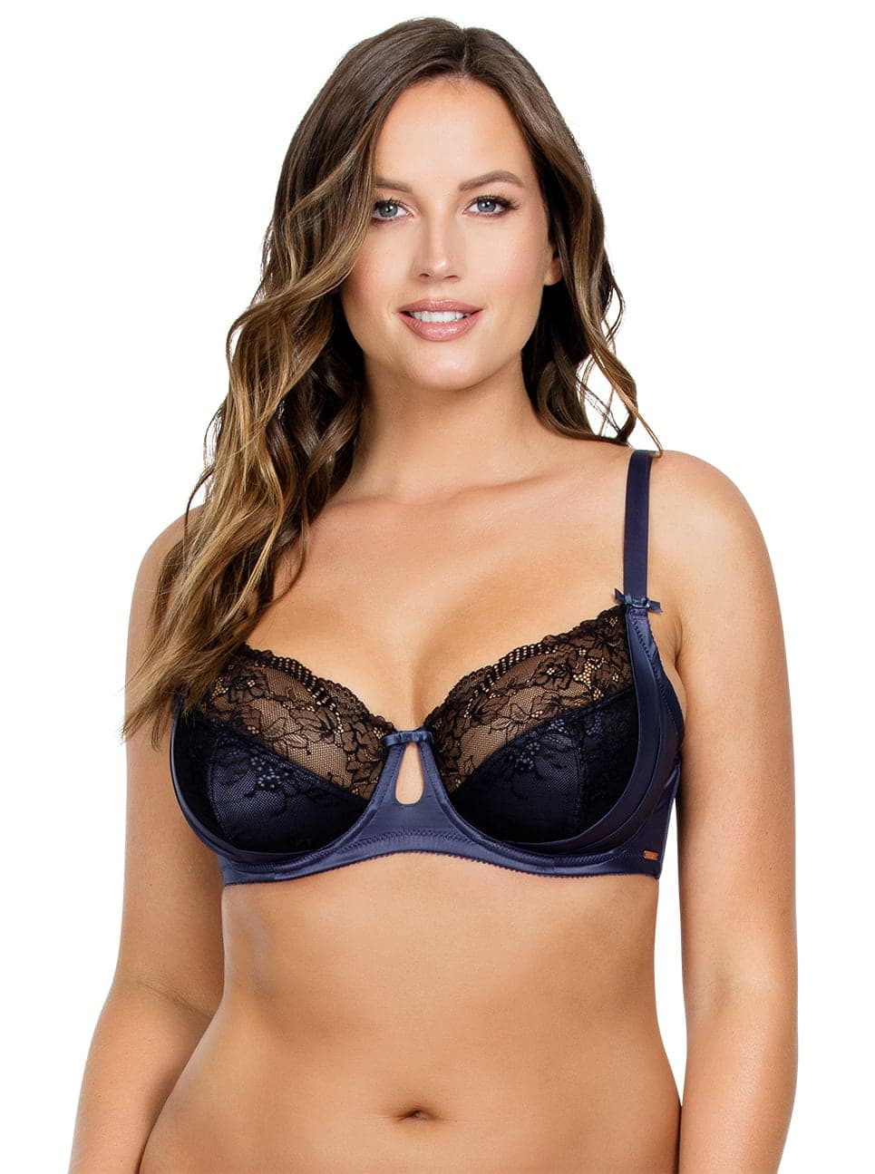 PARFAIT Mariela UnlinedWireBraP5582 Nightshadow Front - Mariela Unlined Wire Bra - Nightshadow - P5582