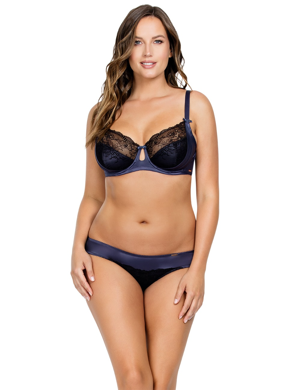 PARFAIT Mariela UnlinedWireBraP5582 BikiniP5583 Nightshadow Front copy - Mariela Unlined Wire Bra - Nightshadow - P5582
