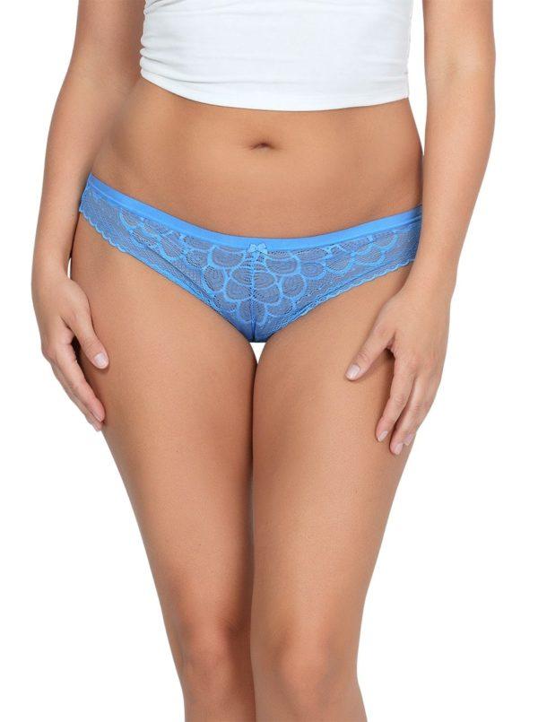 ParfaitPanty SoGlam ThongPP402 MediterraneanBlue FRONT 600x805 - Panty So Glam Thong - Mediterranean Blue - PP402