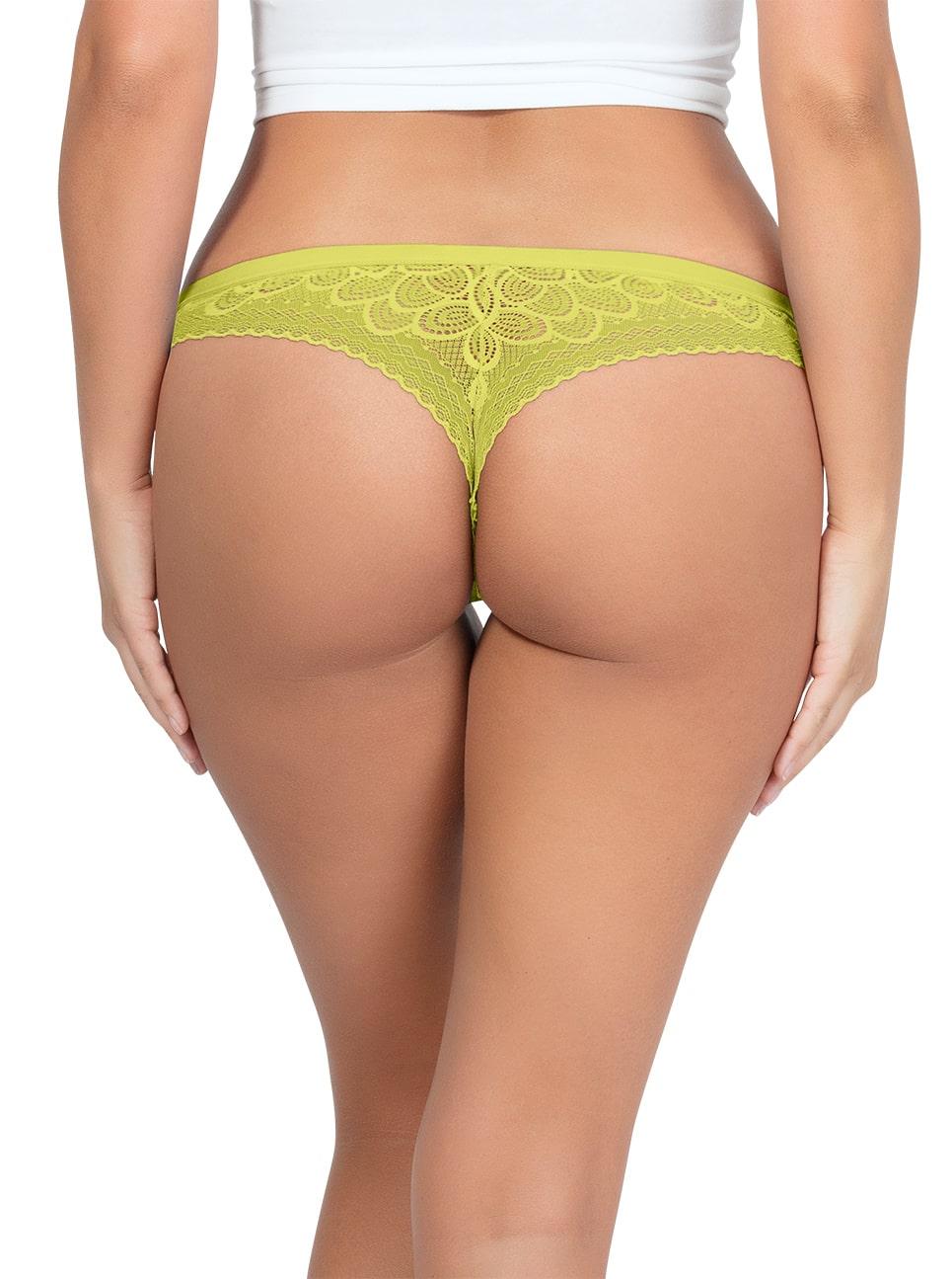 ParfaitPanty SoGlam ThongPP402 Lemonade Back - Panty So Glam Thong - Lemonade - PP402