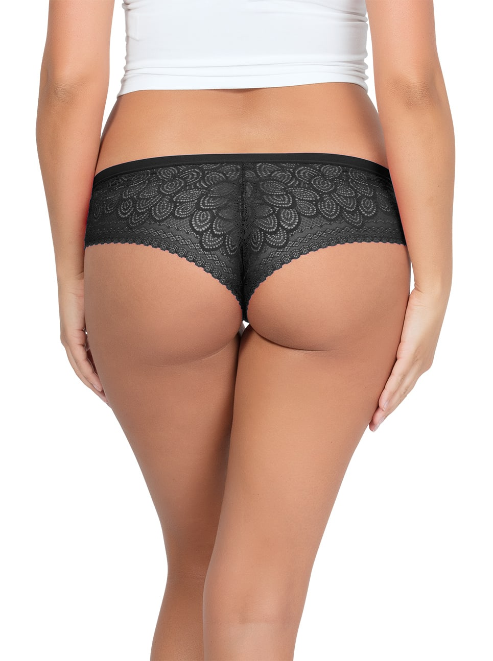 ParfaitPanty SoGlam HipsterPP502 Black BAck1 copy - Panty So Glam Hipster - Black - PP502