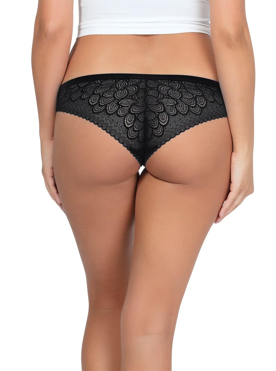 ParfaitPanty SoGlam BikiniPP302 Black back - Panty So Glam Bikini - Black - PP302