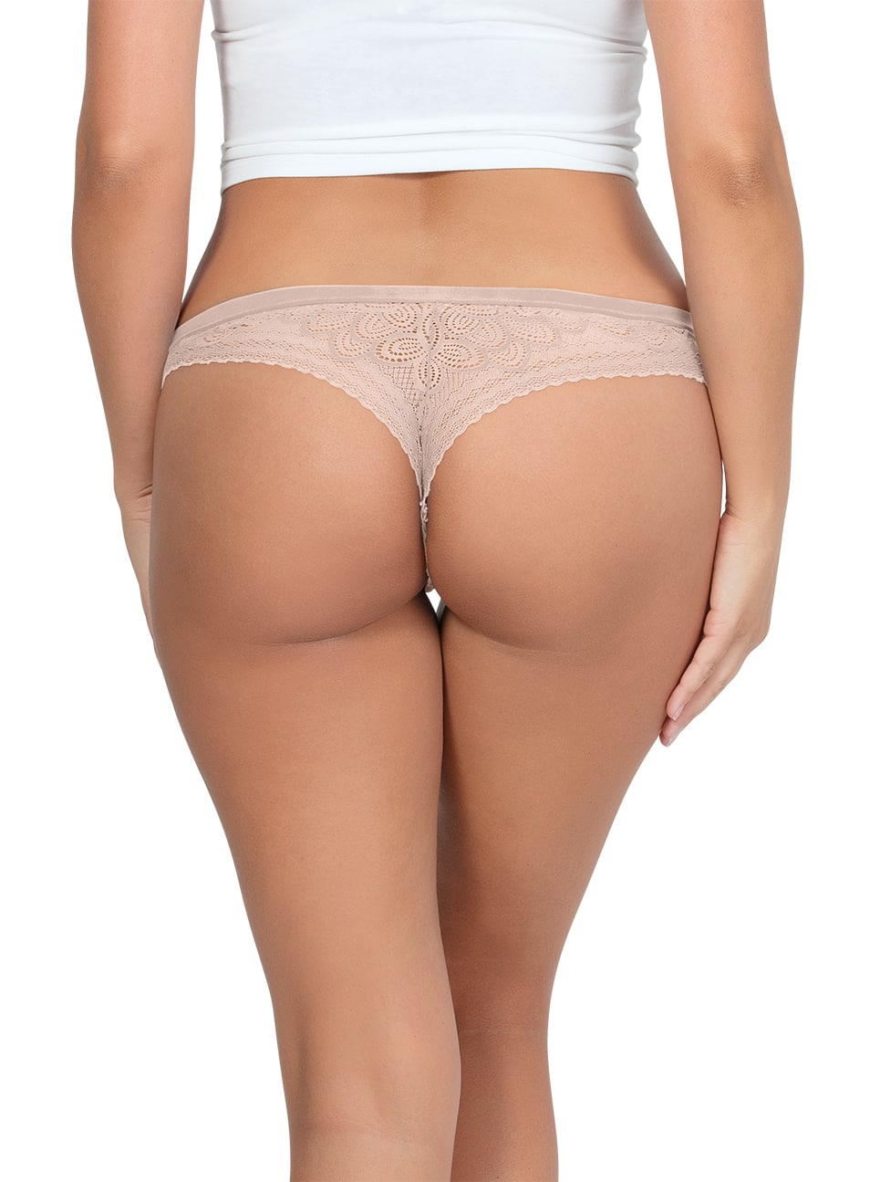 PARFAIT ParfaitPanty SoGlam ThongPP402 Bare Back - Panty So Glam Thong - Bare - PP402
