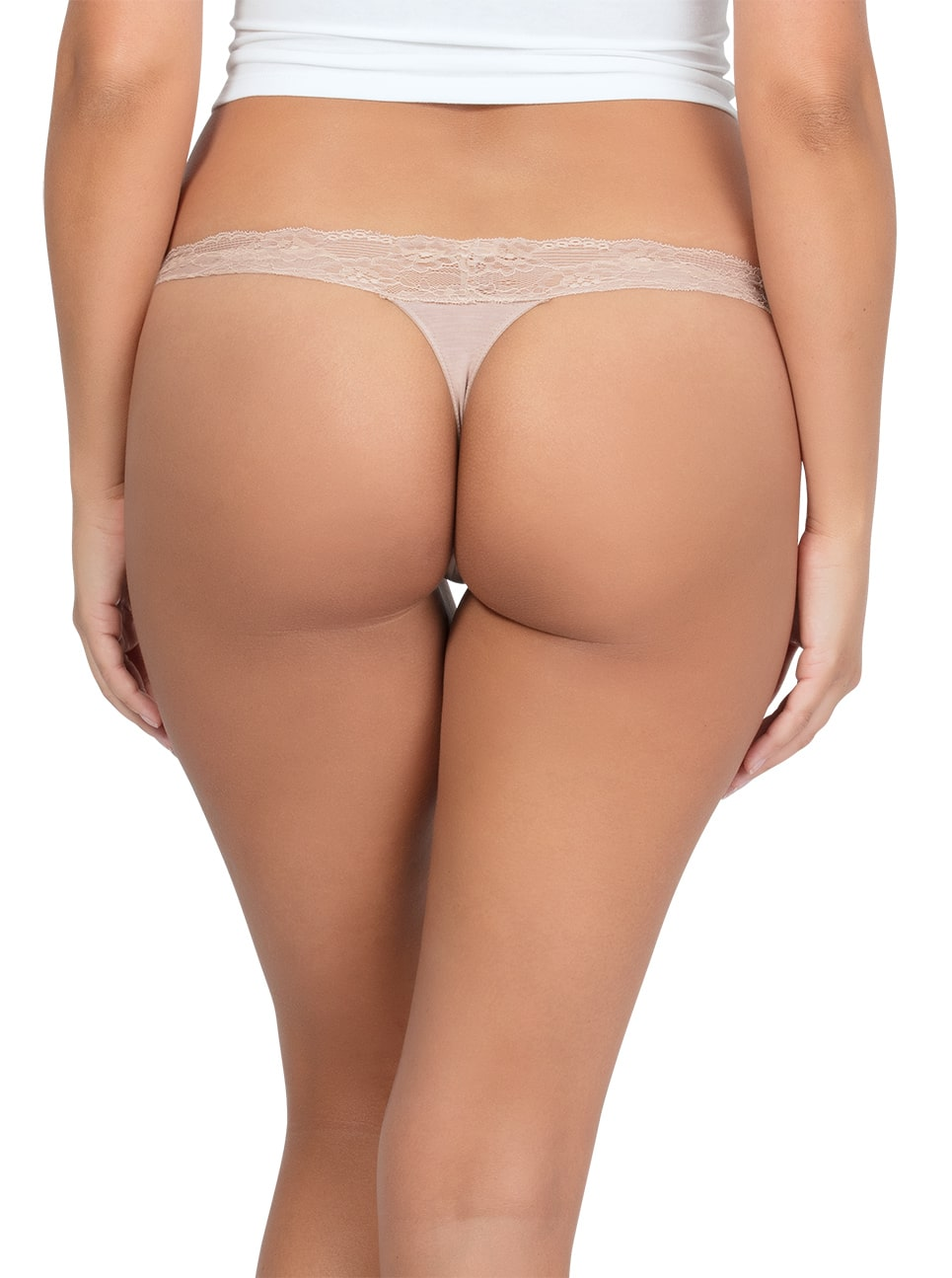 PARFAIT ParfaitPanty SoEssential ThongPP403 Bare Back - Panty So Essential Thong- Bare - PP403