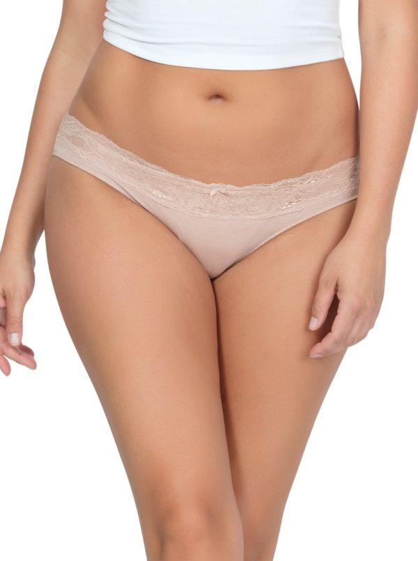 PARFAIT ParfaitPanty SoEssential BikiniPP303 Bare Front2 1 600x805 - Panty So Essential Bikini- Bare - PP303