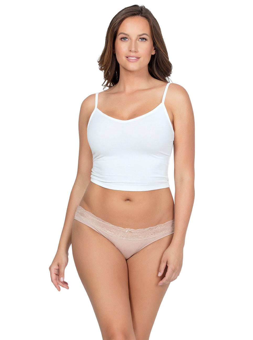 PARFAIT ParfaitPanty SoEssential BikiniPP303 Bare Front - Panty So Essential Bikini- Bare - PP303