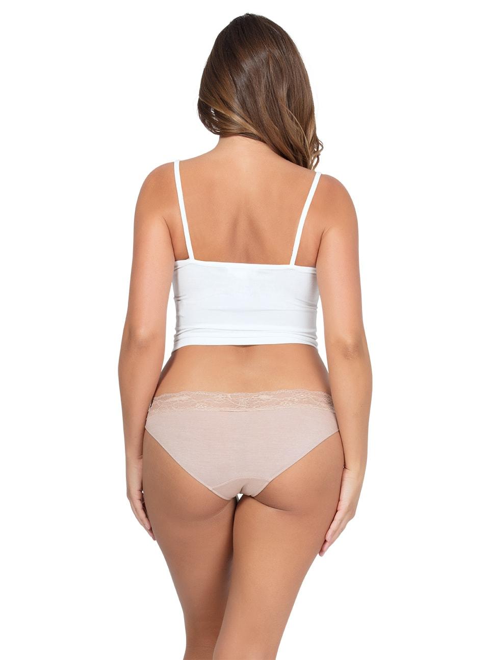 PARFAIT ParfaitPanty SoEssential BikiniPP303 Bare Back2 copy - Panty So Essential Bikini- Bare - PP303