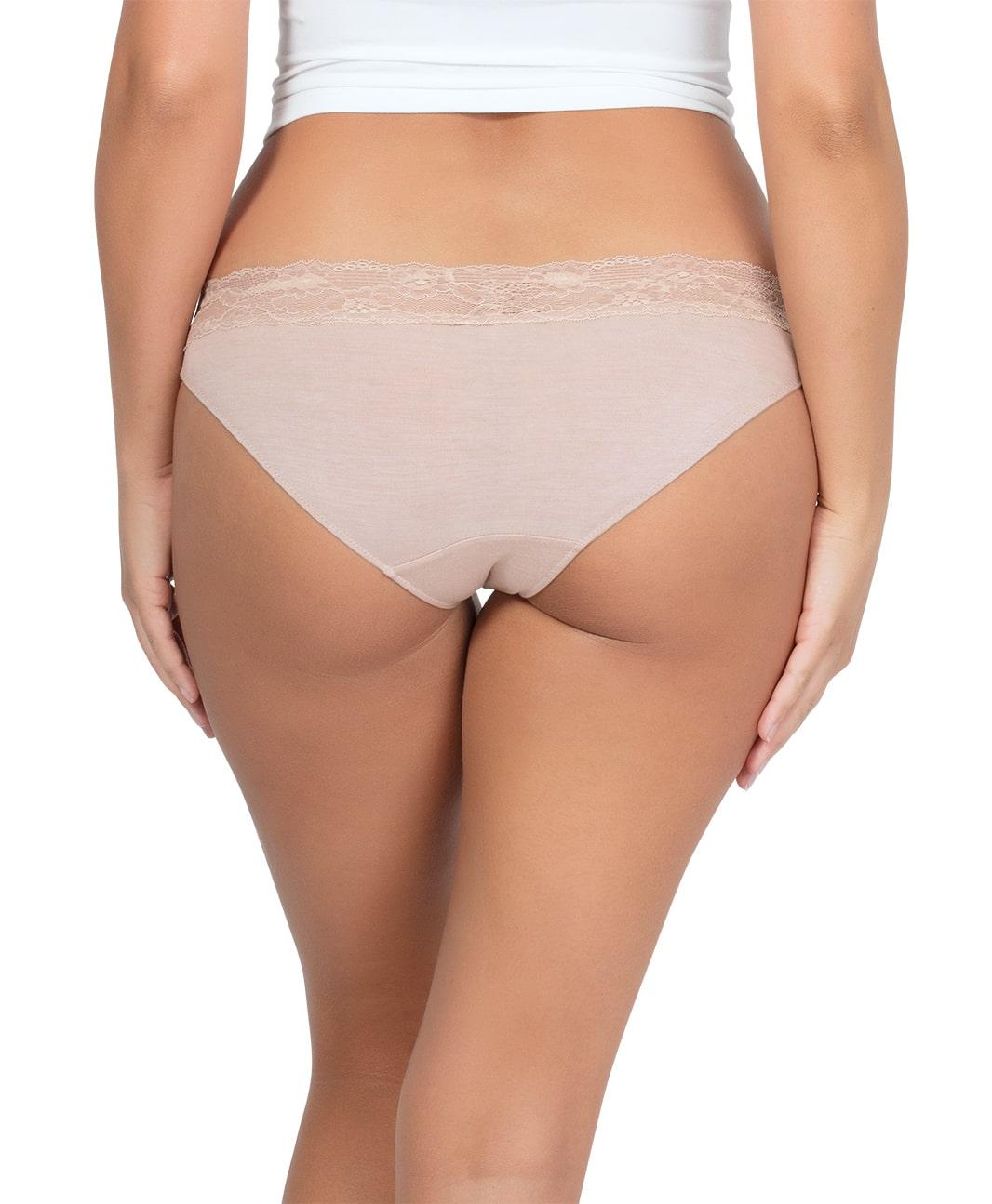 PARFAIT ParfaitPanty SoEssential BikiniPP303 Bare Back2 - Panty So Essential Bikini- Bare - PP303