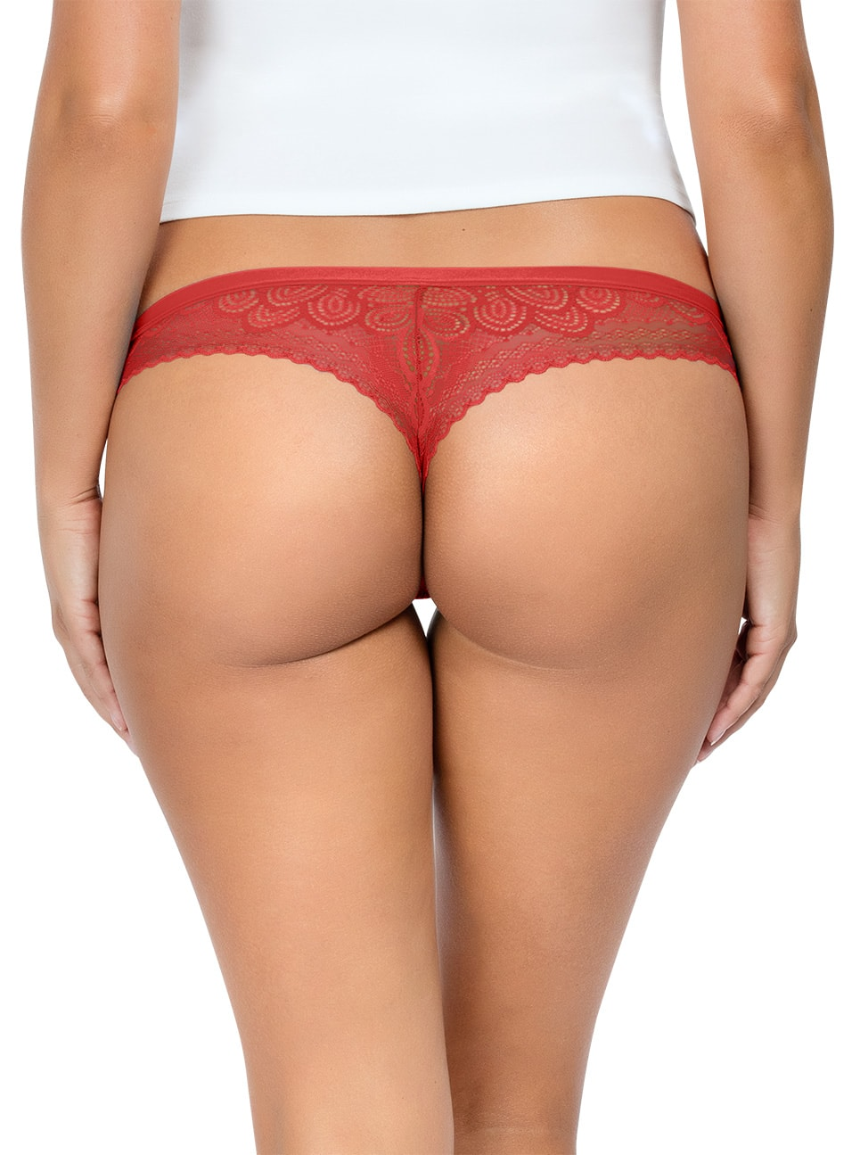 PARFAIT ParfaitPanty SoGlam ThongPP402 Scarlette Back close - Panty So Glam Thong - Scarlette - PP402