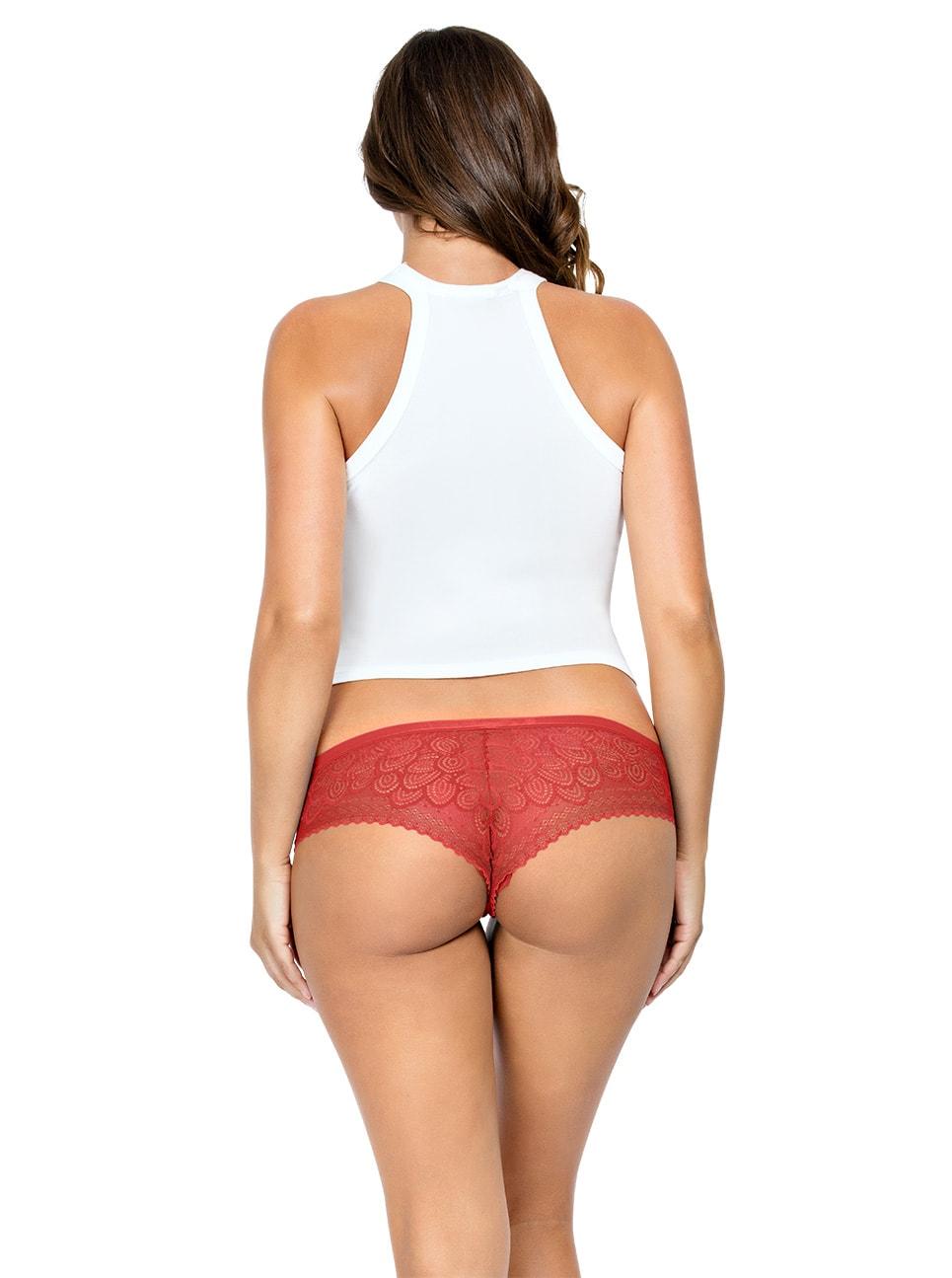 PARFAIT ParfaitPanty SoGlam HipsterPP502 Scarlette Back copy - Parfait Panty So Glam Hipster - Scarlette - PP502