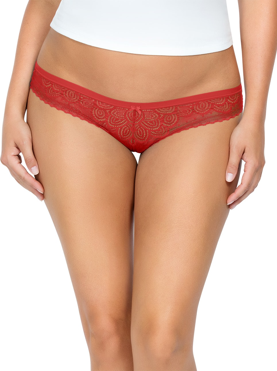 PARFAIT ParfaitPanty SoGlam BikiniPP302 Scarlette Front close - Panty So Glam Bikini - Scarlette - PP302