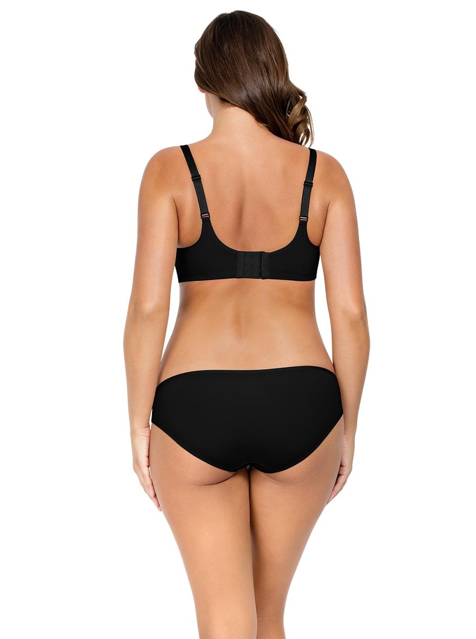 PARFAIT Enora MinimizerBraP5272 BikiniP5273 Black Back copy - Enora Bikini - Black - P5273