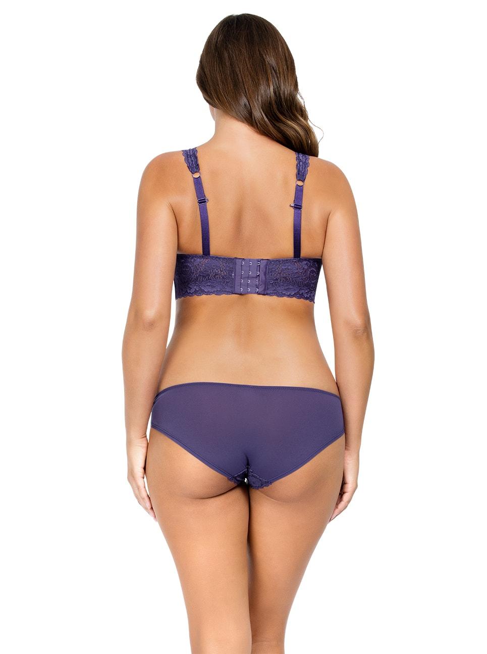PARFAIT Adriana LaceBraletteP5482 BikiniP5483 Mulberry Back copy 2 - Adriana Bikini - Mulberry - P5483
