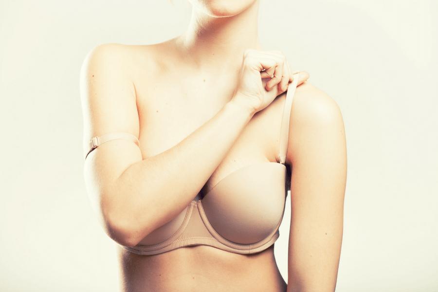 bra straps digging into shoulders