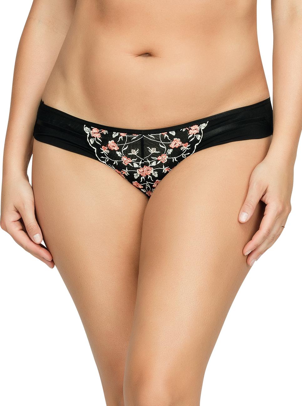 PARFAIT Briana BikiniP5673 BlackFloral Front1 - Briana Bikini Black Floral P5673