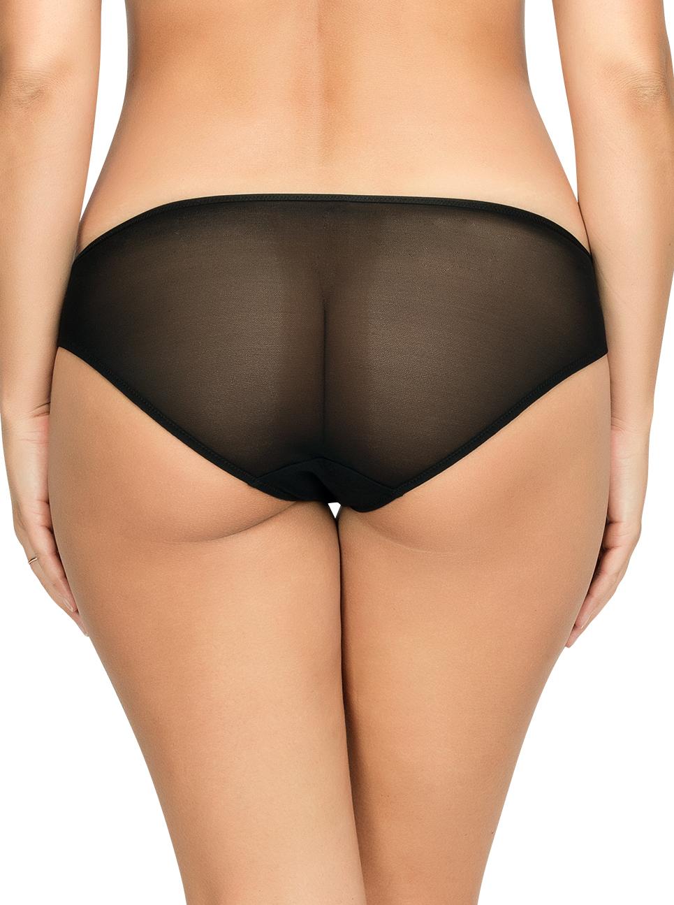 PARFAIT Briana BikiniP5673 BlackFloral Back - Briana Bikini Black Floral P5673