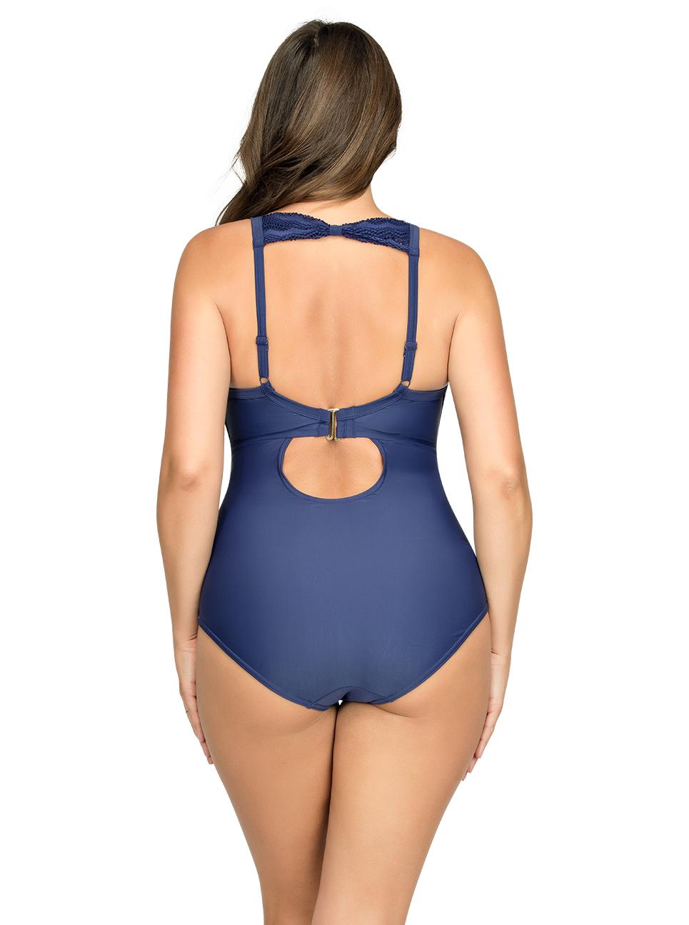 PARFAIT Keira OnePieceSwimsuitS8076 Twilight Back - Keira One-Piece Swimsuit Twilight S8076