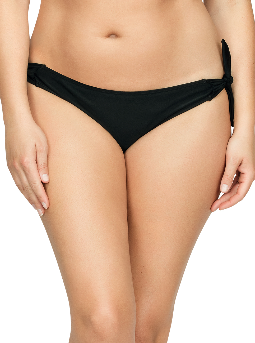 PARFAIT Oceane BikiniBottom Black Front1 - Oceane Bikini Bottom Black S8063