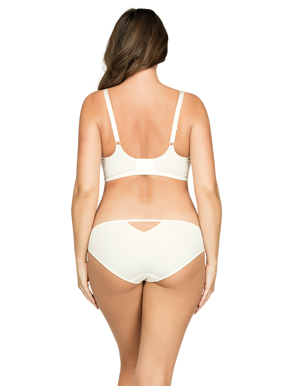PARFAIT Ciara BraletteP5711 BikiniP5713 Ivory Back - Ciara Bikini Ivory P5713