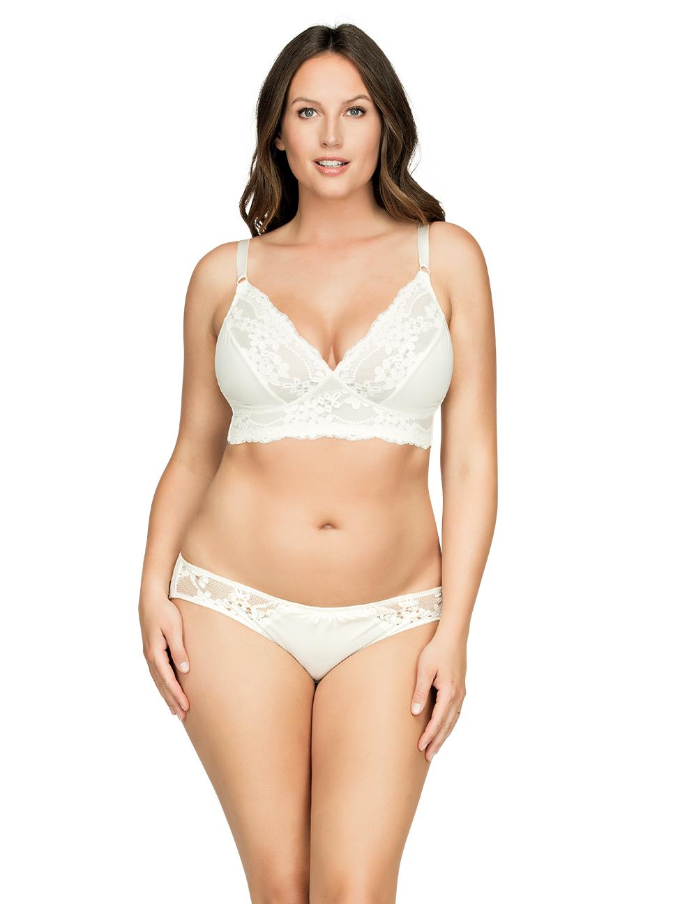 PARFAIT Ciara BraletteP5711 BikiniP5713 Ivory Front1 - Ciara Bralette Ivory P5711