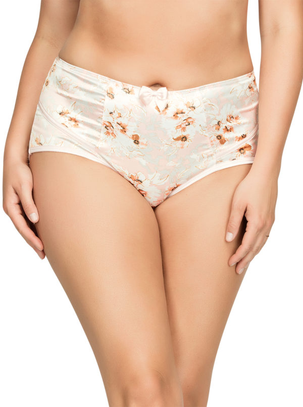 PARFAIT Charlotte HighwaistBrief6917 BlossomPrint Front 600x805 - Charlotte Highwaist Brief - Blossom Print - 6917