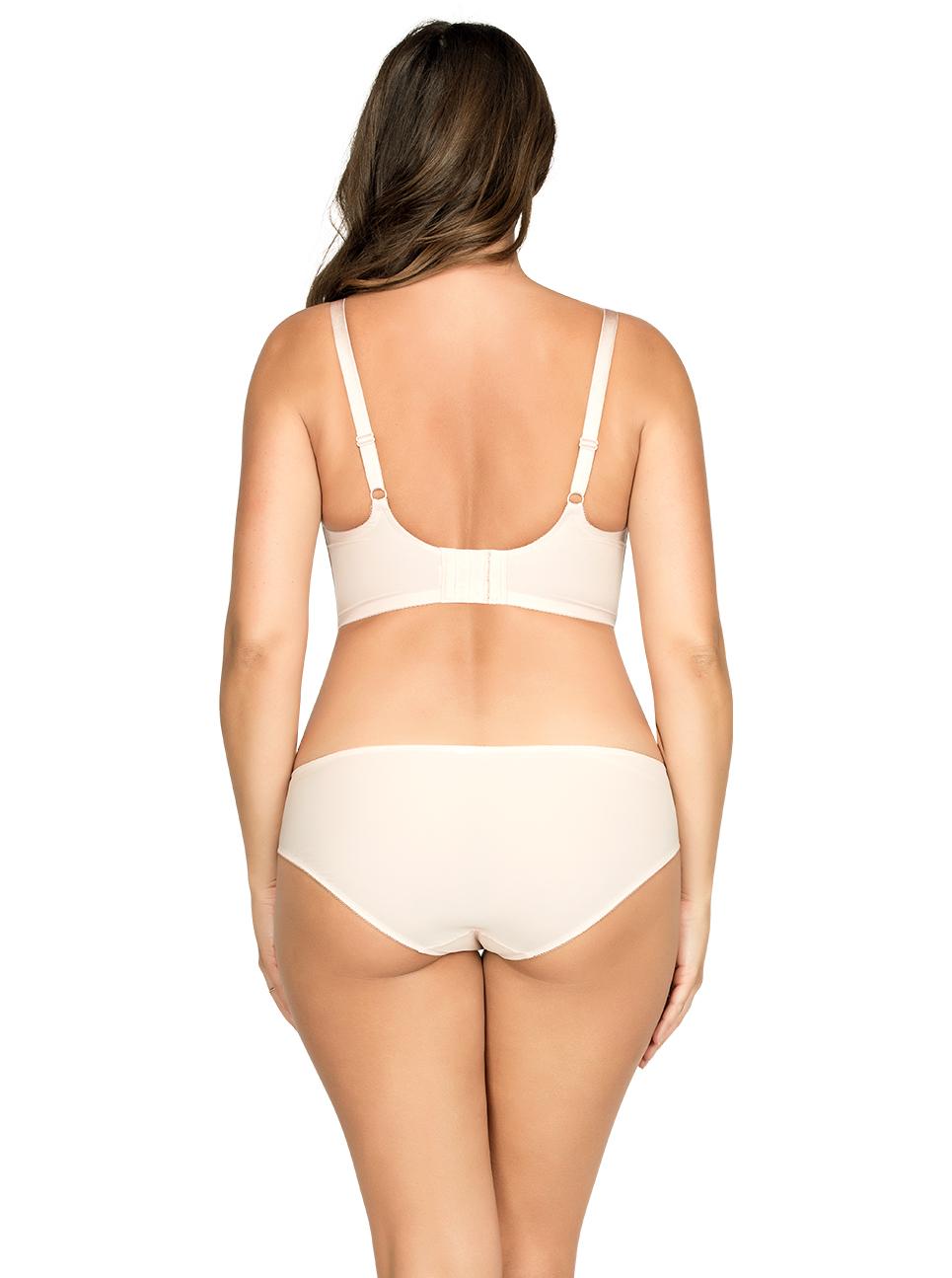PARFAIT Cora UnlinedLonglineBraP5632 BikiniP5633 Back - Cora Unlined Longline Bra - Pale Blush - P5632