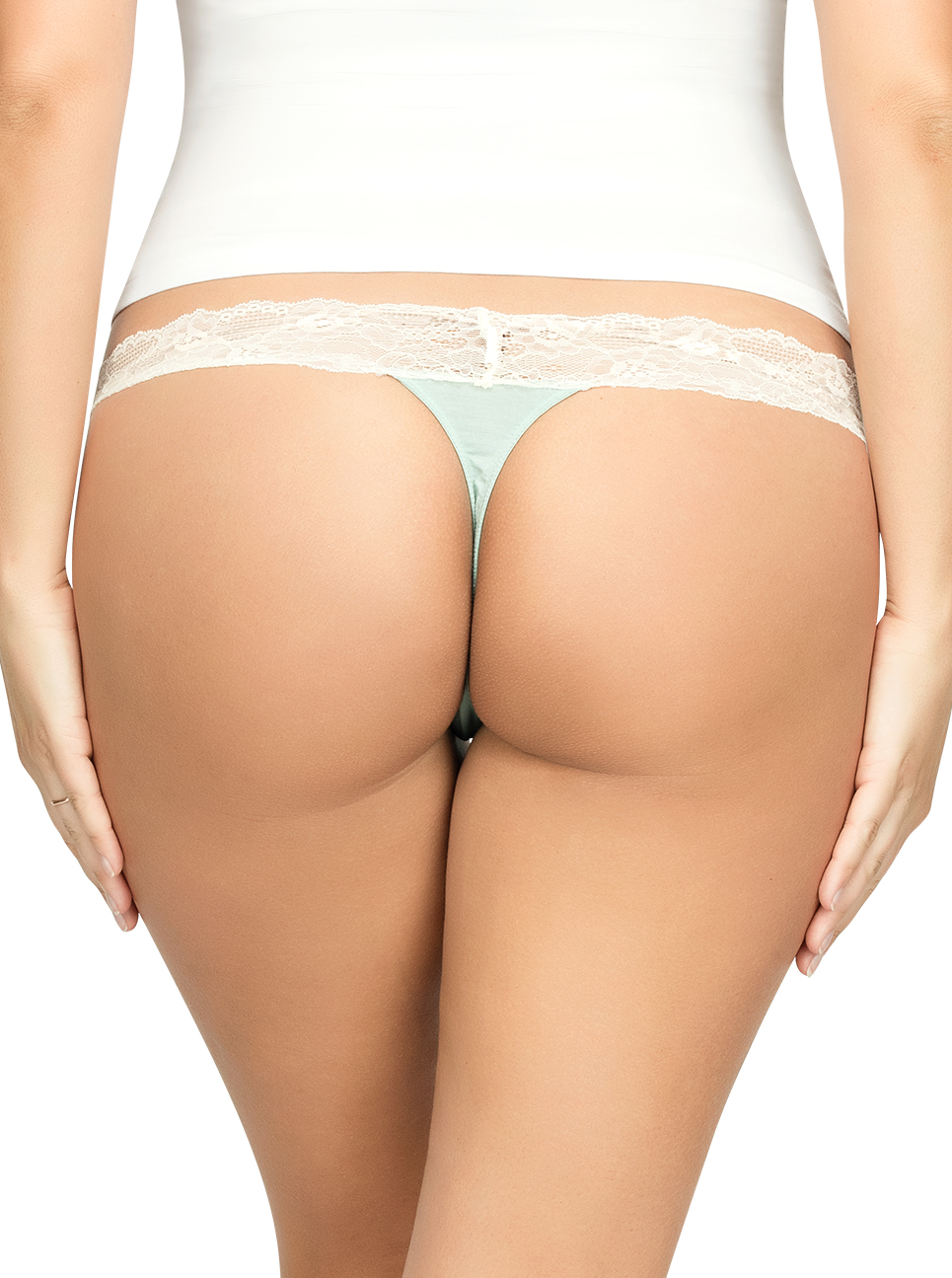 ParfaitPanty SoEssential ThongPP403 Surf Back - Panty So Essential Thong - Surf - PP403