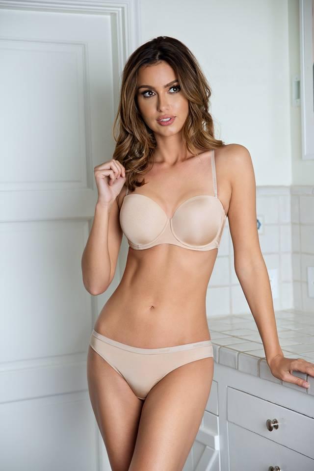 strapless push up bra