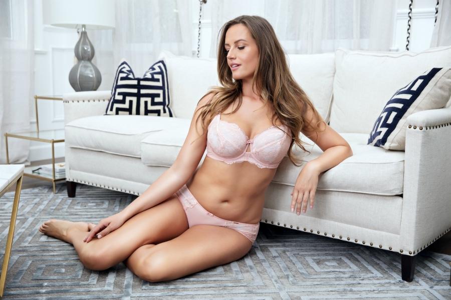 pink lingerie set