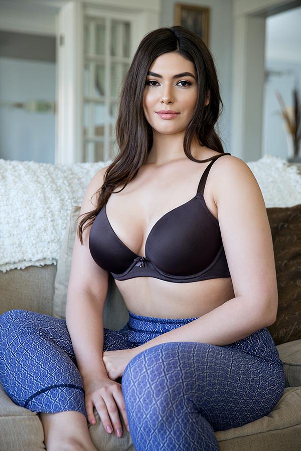 plunge molded bra