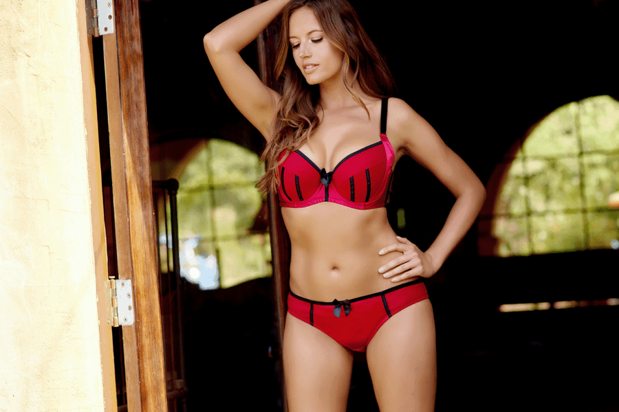 red and black bra - 5 Reasons To Consider Red Lingerie