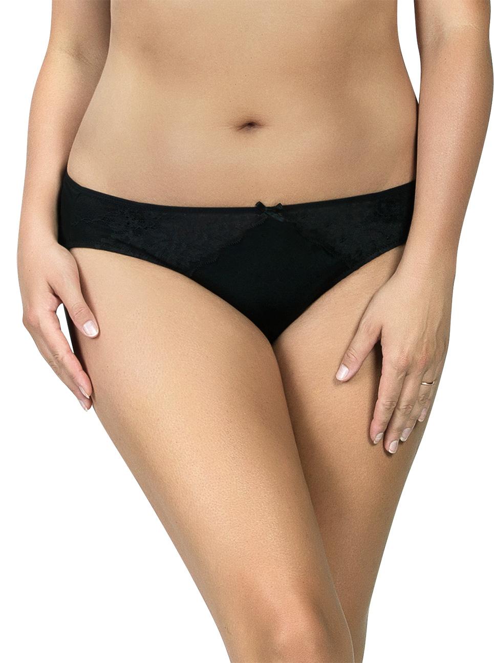 PARFAIT Aubrey Bikini P5763 Black Front - Aubrey Bikini Black P5763