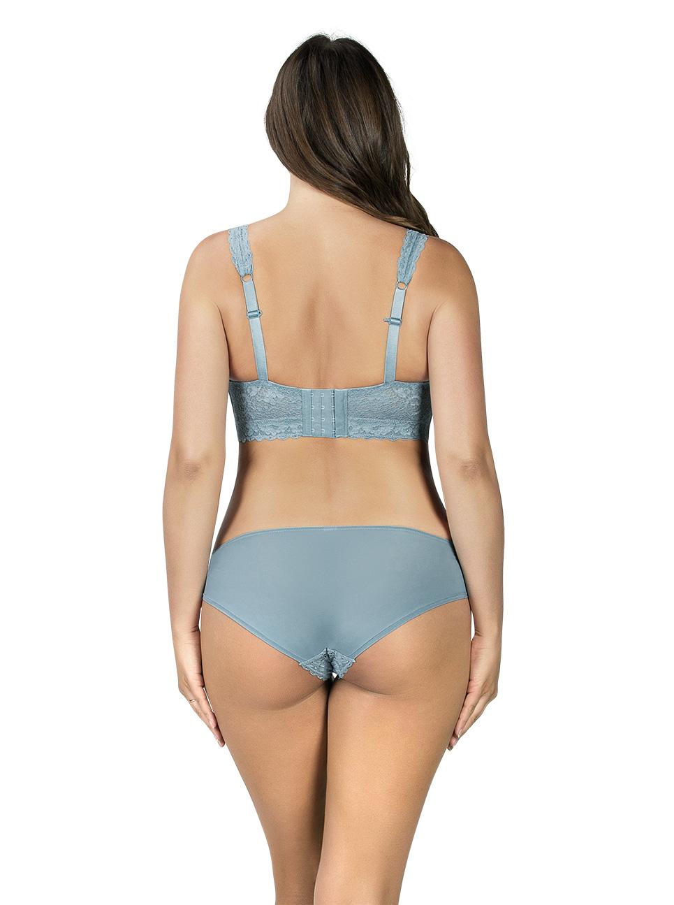 PARFAIT Adriana LaceBraletteP5482 BikiniP5483 StoneBlue Back - Adriana Bikini Stone Blue P5483